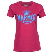 Női póló Marmot Carly Tee SS lila red dahlia