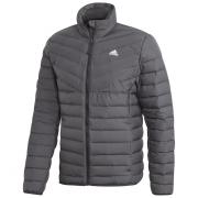 Férfi kabát Adidas Varililte 3-Stripes Soft Down fekete