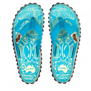 Dámské žabky Gumbies Islander Turquoise Pattern turquoise turquoise