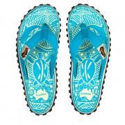 Dámské žabky Gumbies Islander Turquoise Pattern turquoise turquoise