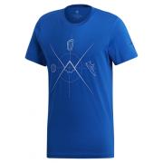Férfi póló Adidas Ascend Tee kék
