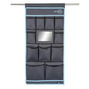 Organizér Bo-Camp Tent organizer 11 pockets Mirror 45x90cm fekete