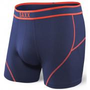 Boxeralsó Saxx Kinetic Boxer Midnight blue/Orange kék midnight blue/orange