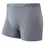 Férfi boxeralsó Sensor Merino Wool Active szürke szürke šedá