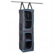 Organizér Bo-Camp 4 Compartments 35x35x131cm fekete