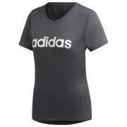 Női póló Adidas Design 2 Move Logo sötétszürke