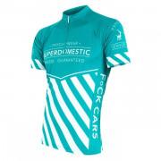 Pánský cyklistický dres Sensor Superdomestic világoskék