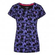 Dámské triko Loap Babett fekete/kék