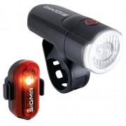 Kerékpátr lámpa szett Sigma Aura 30 + Curve