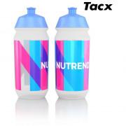 Kulacs bidon Nutrend 2019 Tacx 0,5l kék/rózsaszín