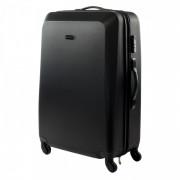 Gurulós bőrönd Hi-Tec Cork 109l fekete