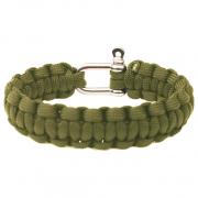 Karkötő Yate Paracord zöld
