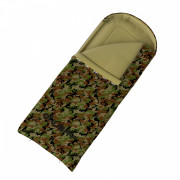 Hálózsák Husky Quilted Gizmo Army -5°C zöld