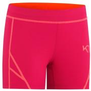 Női rövidnadrág Kari Traa Louise shorts rózsaszín peony