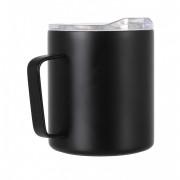 Thermo bögre LifeVenture Insulated Mountain Mug fekete
