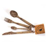 Evőeszköz készlet Kupilka Cutlery barna