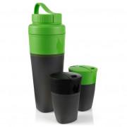 Ivó készlet LMF Pack-Up Drink Kit fekete/zöld