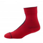 Vízhatlan zokni SealSkinz Road Ankle piros