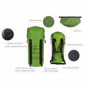 Vízhatlan hátizsák Hiko Trek 40 l zöld