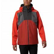 Férfi kabát Columbia Rain Scape Jacket piros