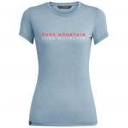 Női póló Salewa Pure M. DRI-REL S/S szürke/kék