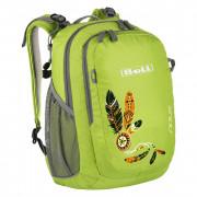 Gyerek hátizsák Boll Sioux 15 világoszöld lime