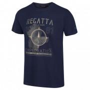 Pánské triko Regatta Cline IV kék