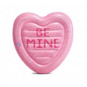 Felfújható szív Intex Candy Heart 58789EU rózsaszín