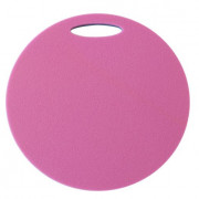 Ülő matrac Yate kétrétegű, kerek kék/rózsaszín