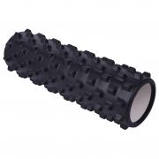 Masszázs henger Yate 45x14 fekete