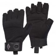 Férfi kesztyű Black Diamond Crag Half-Finger Gloves fekete