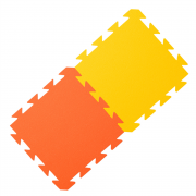 Yate habszivacs szőnyeg sárga/narancs