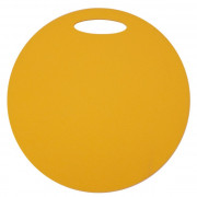 Ülő matrac Yate egyrétegű, kerek sárga