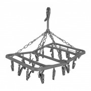 Ruhaszárító Bo-Camp Drying carousel foldable 24 szürke