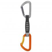 Expressz Petzl Spirit Express 12 cm szürke/narancssárga