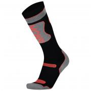 Női zokni Mons Royale Pro Lite Tech Sock fekete/szürke