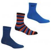 Gyerek zokni Regatta Kids3PkOutdoorSck kék
