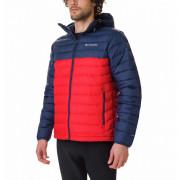 Férfi kabát Columbia Powder Lite Hooded Jacket piros/kék