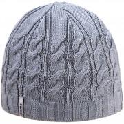 Kötött merinói sapka Kama A110 világosszürke light grey