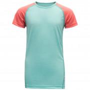 Női atléta Devold Breeze Junior T-Shirt (2019) világoskék