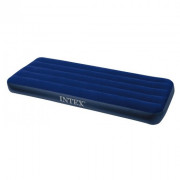 Felfújható matrac Intex Cot Size Classic Downy Airbed kék