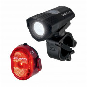 Kerékpátr lámpa szett Sigma Buster 100 + Nugget II. Flash