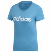 Női póló Adidas Essentials Linear kék