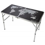 Asztal Regatta Folding Games Table fekete