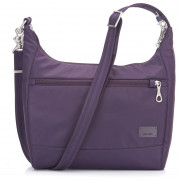 Női táska biztonsági zárral Pacsafe Citysafe CS100 lila