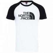 Pánské triko The North Face M S/S Raglan Easy Tee fehér/fekete