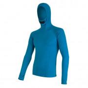 Férfi funkciós póló Sensor Merino DF kapucnis kék modrá
