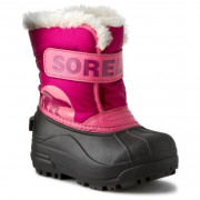 Gyerek télicipő Sorel Snow Commander rózsaszín