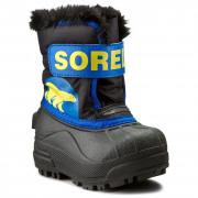 Gyerek télicipő Sorel Snow Commander kék/sárga