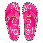 Női flip-flop Gumbies Islander Pink Hibiscus rózsaszín pink